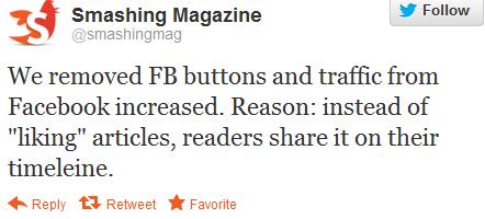 Smashing Mag Tweet