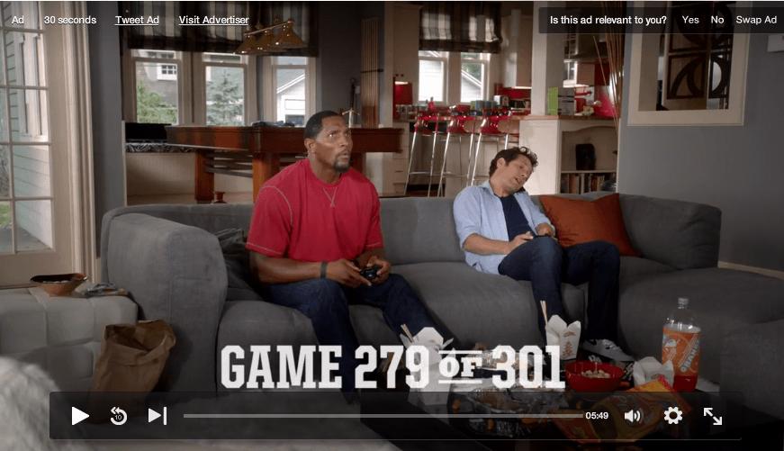 Hulu Ad Relevant