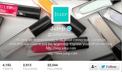 Julep Twitter Header