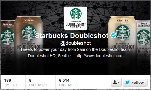 Starbucks Double Shot Twitter Header