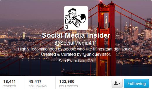 Social Media Insider Twitter Header