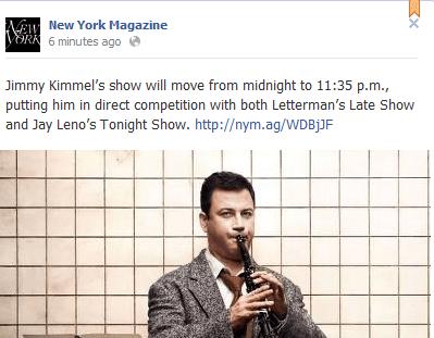 New York Magazine Post