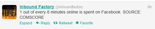 Inbound Factory Tweet