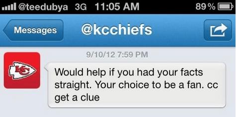 Kansas City Chiefs Twitter
