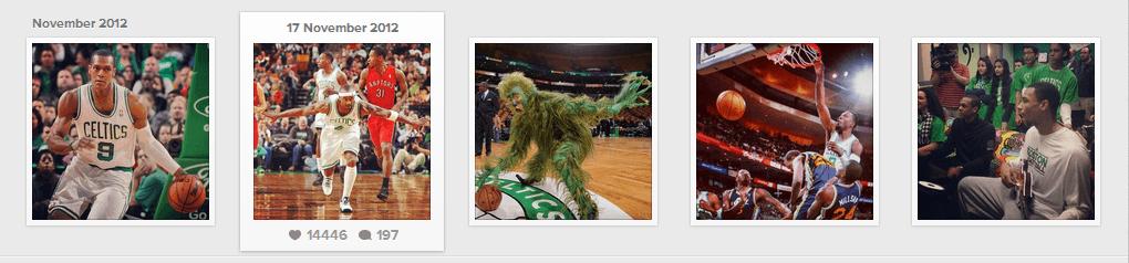 Boston Celtics Instagram