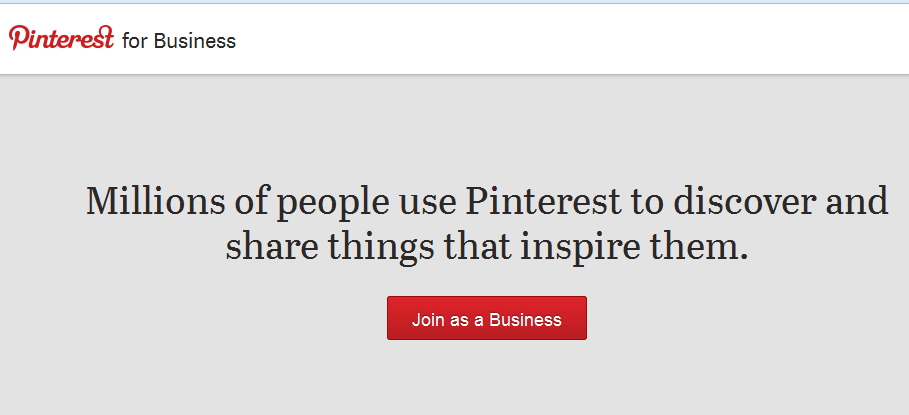 Pinterest Join As A Business