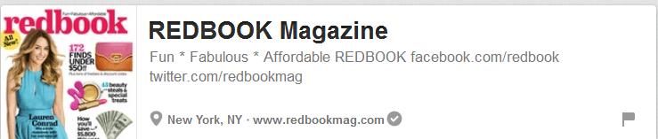 Redbook Magazine Pinterest Website