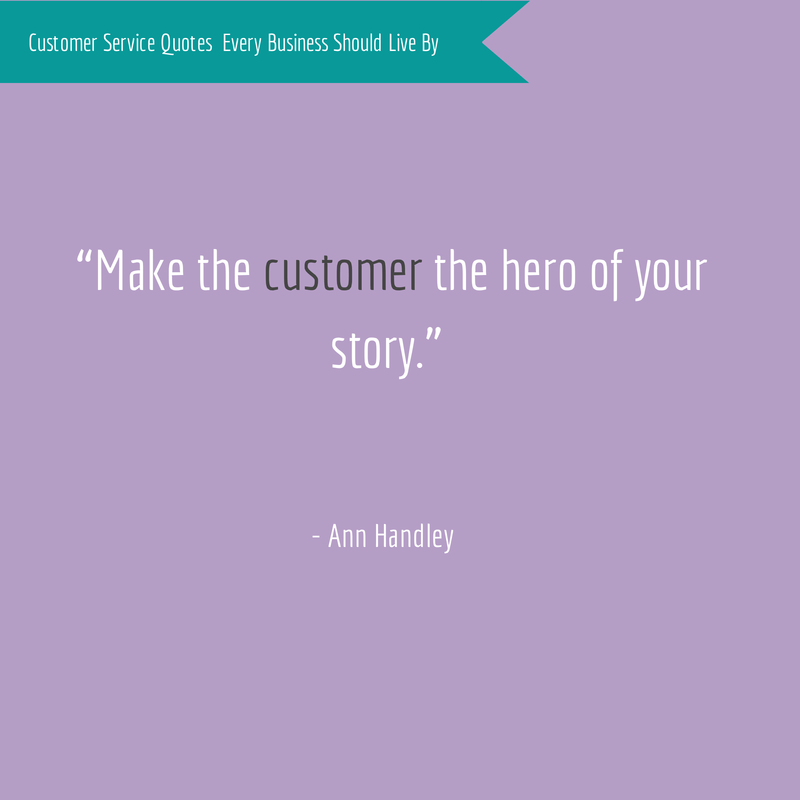 Ann Handley Customer Service Quote
