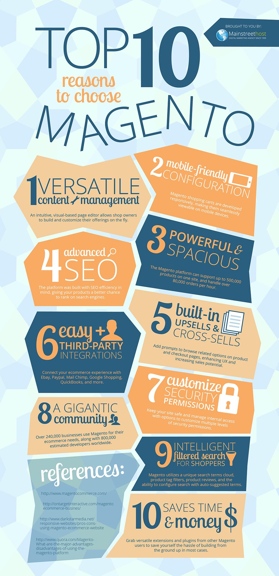 The top 10 advantages to using Magento Ecommerce [INFOGRAPHIC]