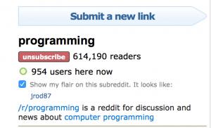 Subreddit Active Users
