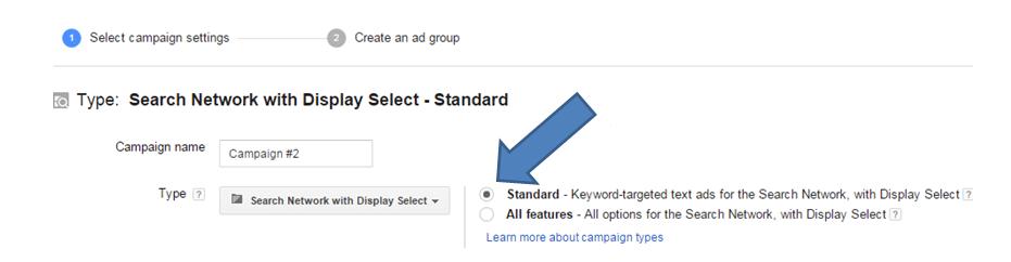 AdWords Standard Display