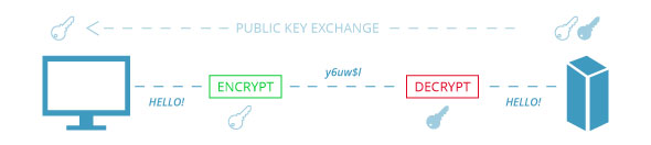 SSL Security Asymmetric Encryption