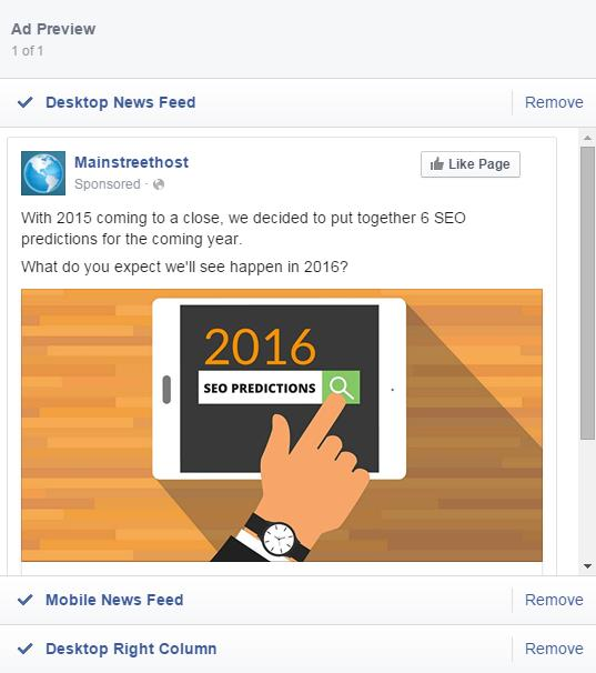 Facebook Boosted Post Desktop News Feed View