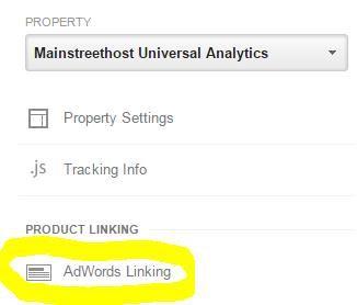 Google Analytics Property Level