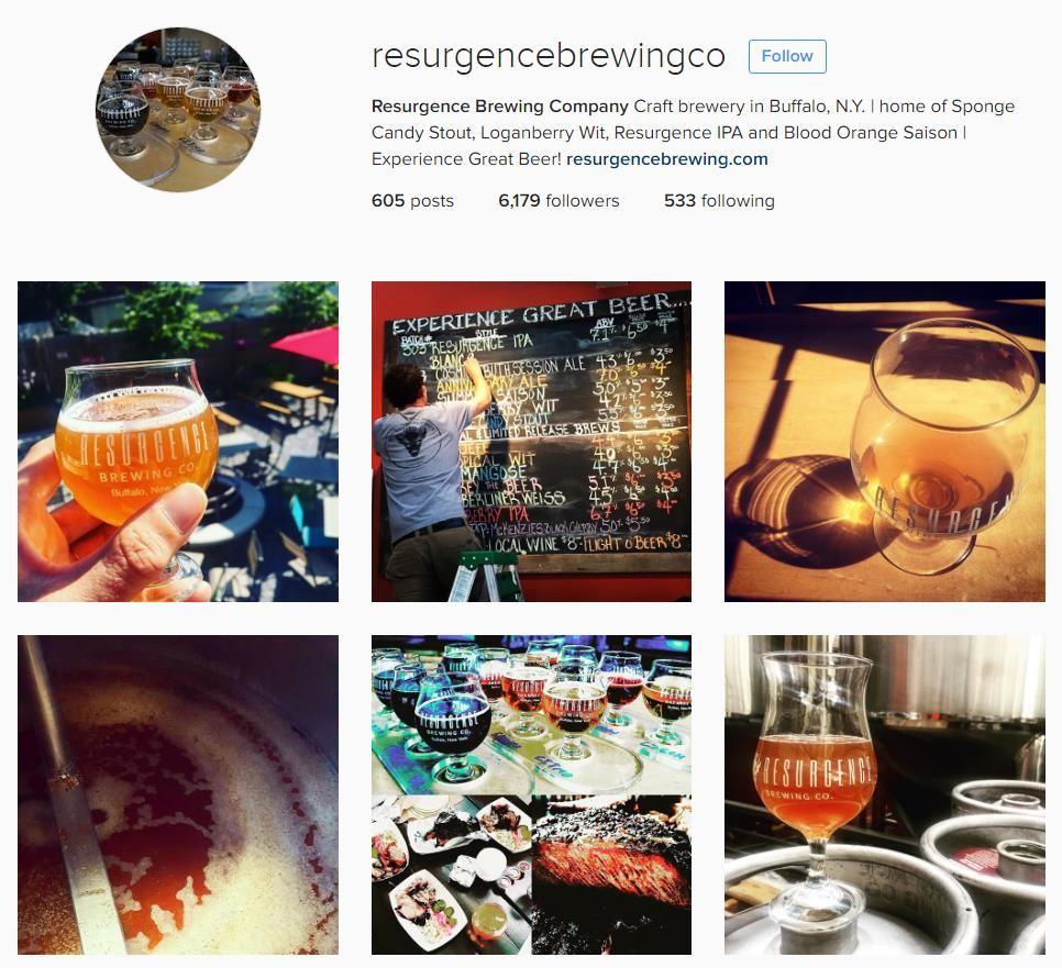 Resurgence Brewing Company Buffalo Breweries