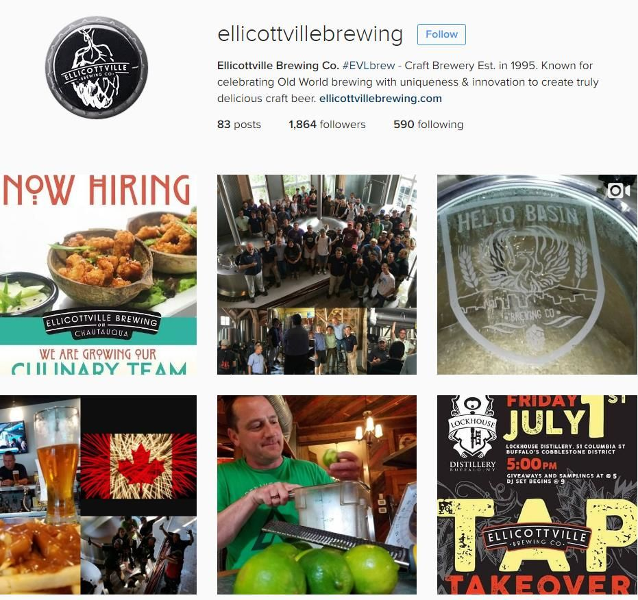 Ellicottville Brewing Company Buffalo Breweries