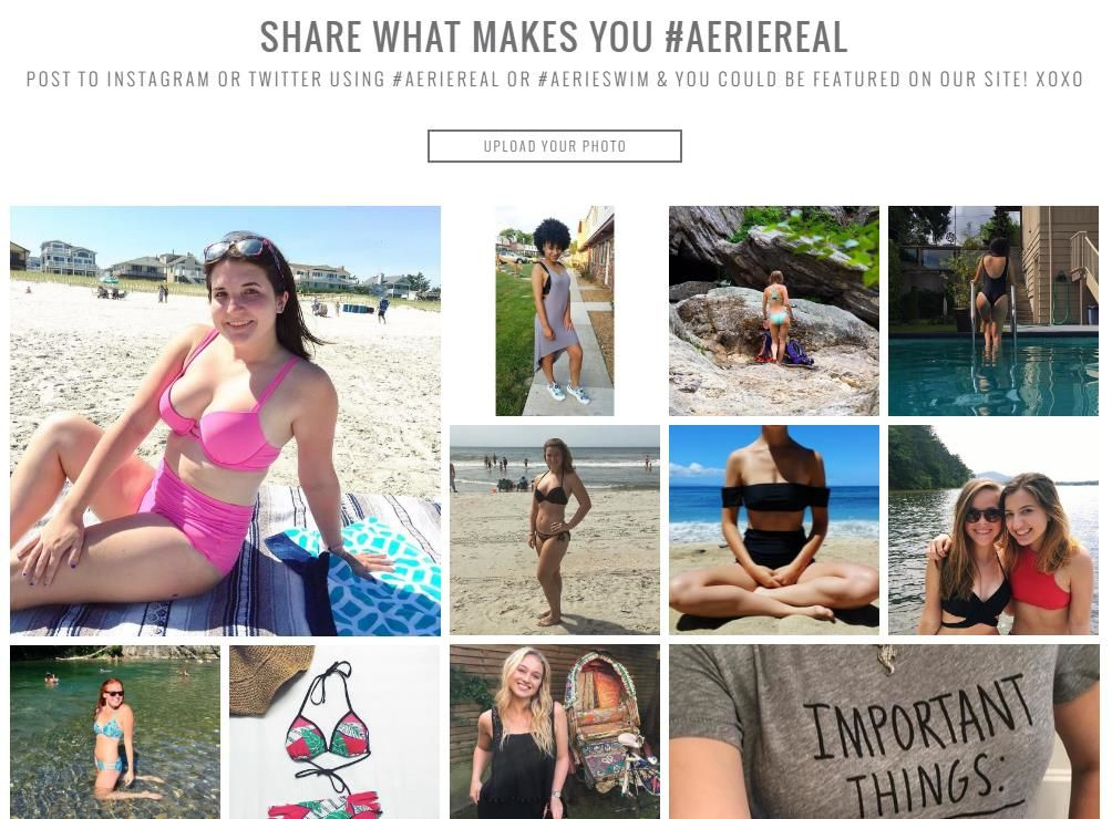 AerieReal User-Generated Content