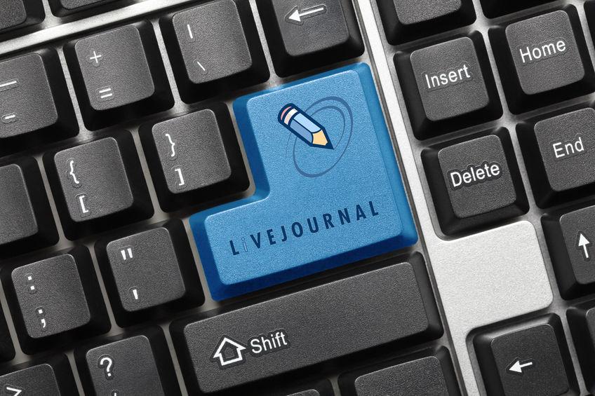 social media platforms LiveJournal