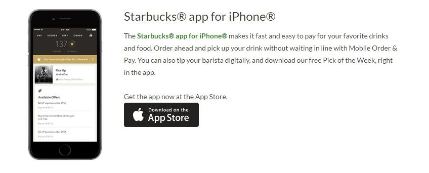 Starbucks App Marketing