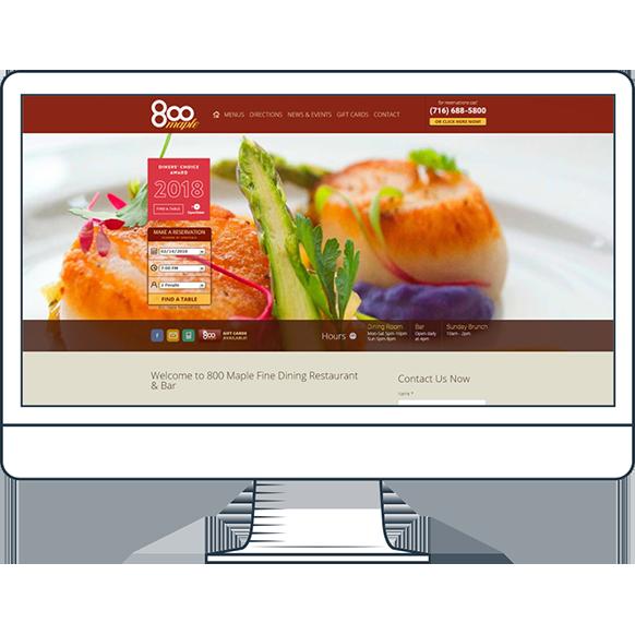 800 Maple Website