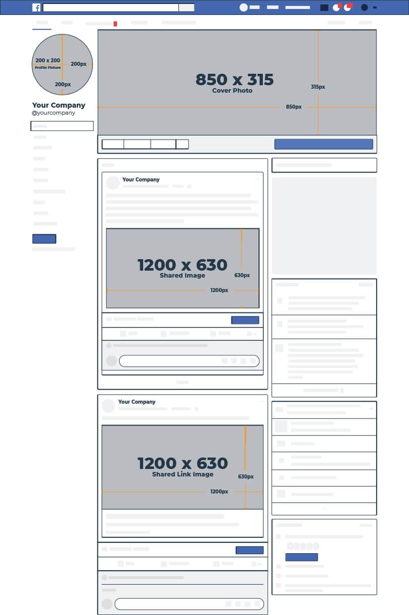 2020 Social Media Image Dimensions Cheat Sheet