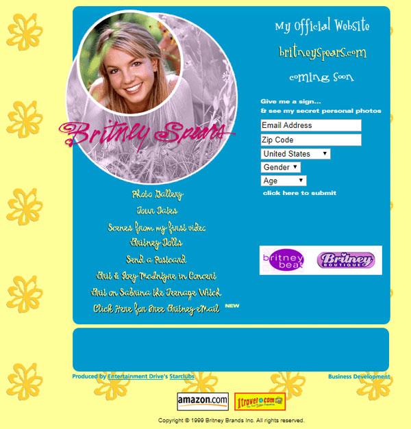 BritneySpears.com (1999)
